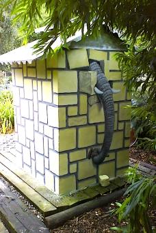 Der Elefant will fliehen... eine Illusionistische Wandbemalung