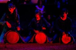 """Den """"Wassergeistern"""" den Rhythmus schlagen, zum Viathea 2015"""