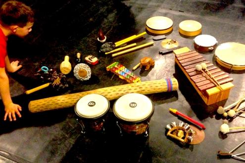 Welche Percussion kommt zum Einsatz ?